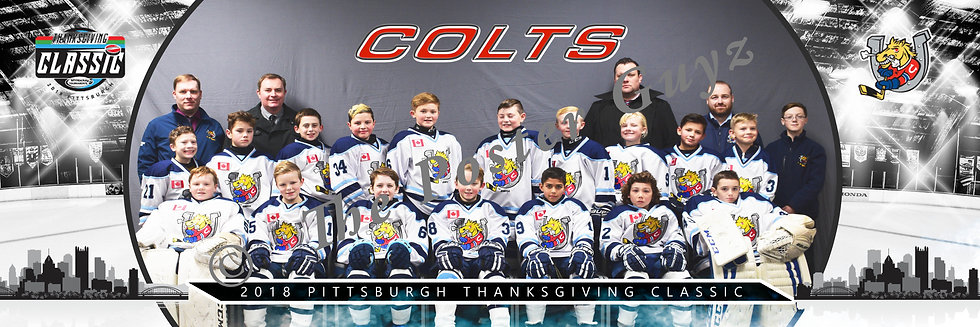 Barrie Colts Squirt AA