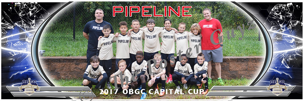 PIPELINE SC BLACK (MD) Boys U10