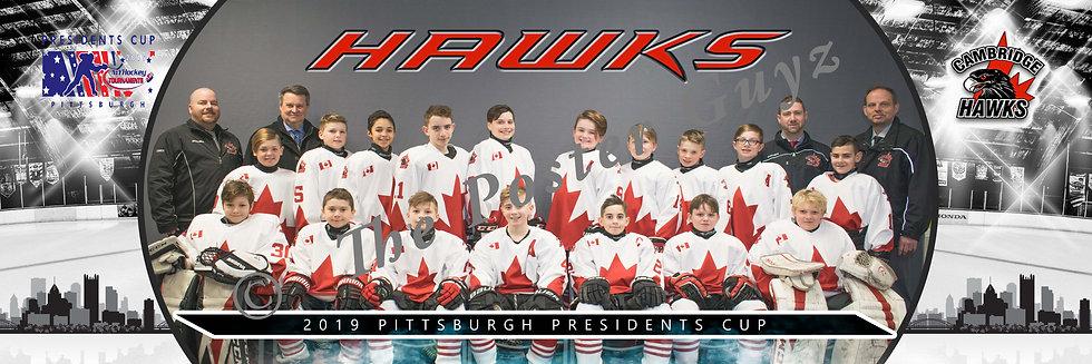 Cambridge Hawks Peewee A