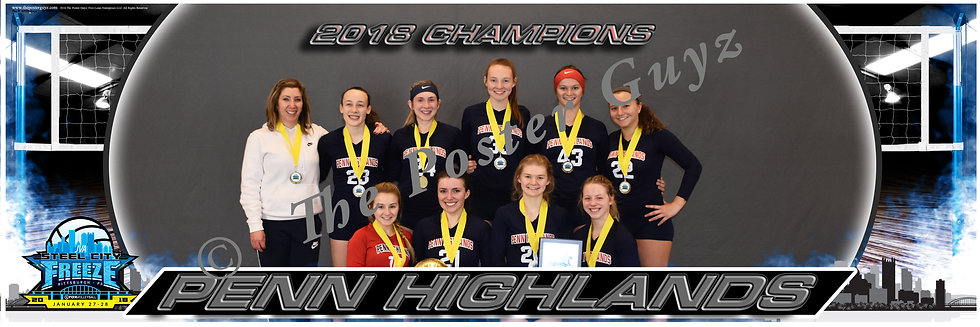 Penn Highlands 17 Red Champions