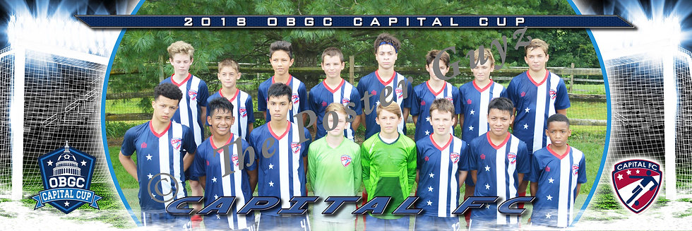 Capital FC 05B Red Boys U14