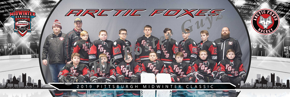 Pittsburgh Arctic Foxes Peewee AA