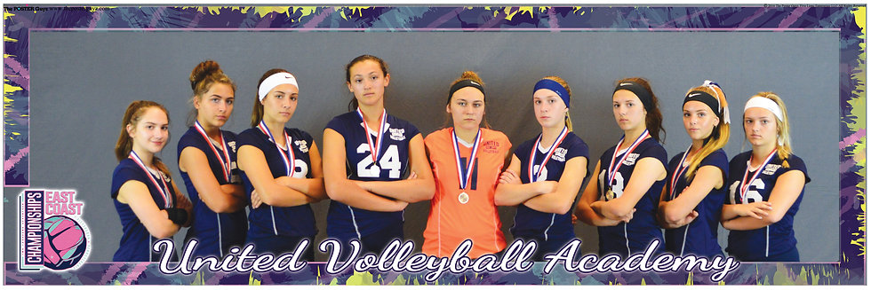 United Volleyball Academy 15 serious