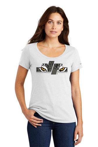 NAFH-Women's Nike Short Sleeve-Eye Logo