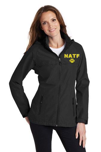 NATF-Women's Full Zip Rain Jacket