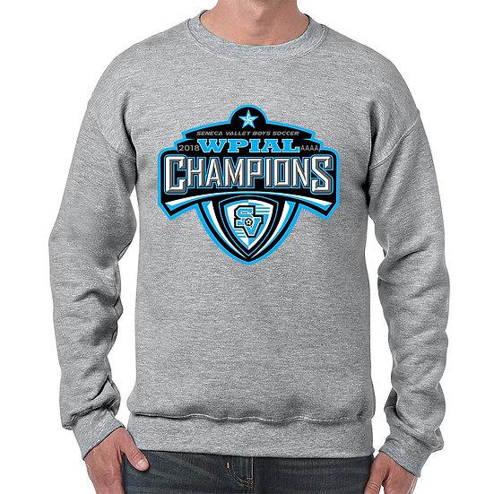 Grey Crewneck Sweatshirt