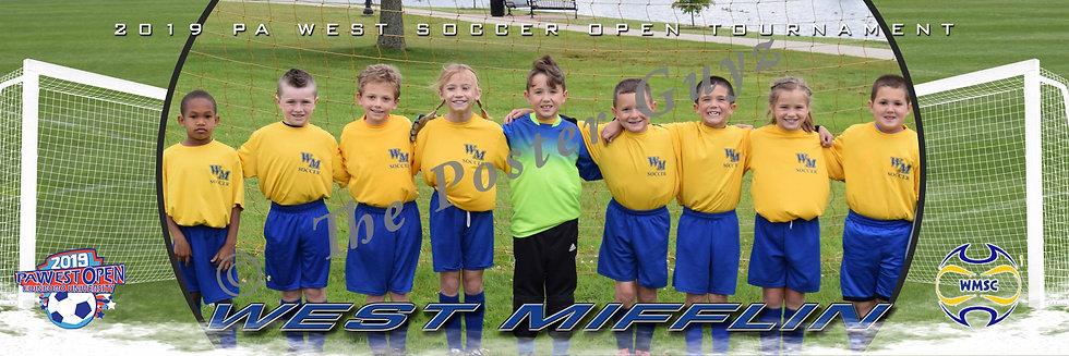 West Mifflin girls u8-u9