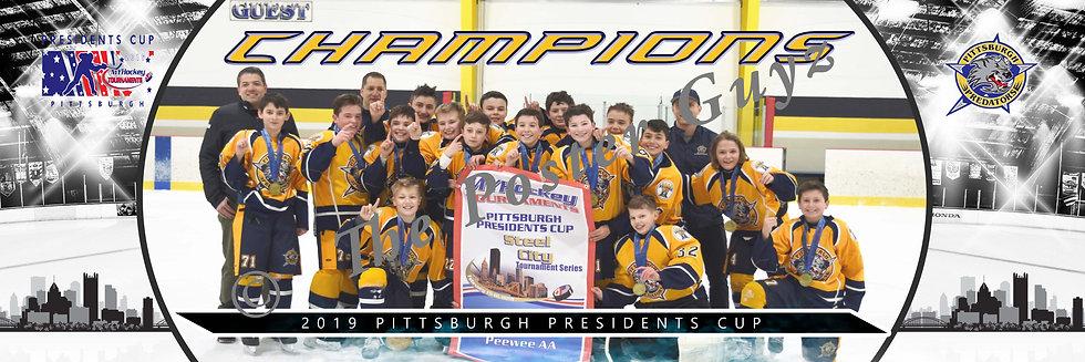 Pittsburgh Predators Peewee AA Champions