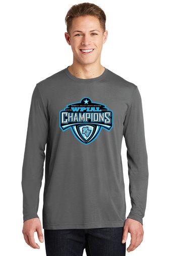 Dark Grey Long Sleeved Dri-Fit T-Shirt