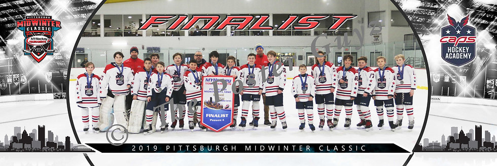 Capitals Academy Blue PeeWee A1 Finalist