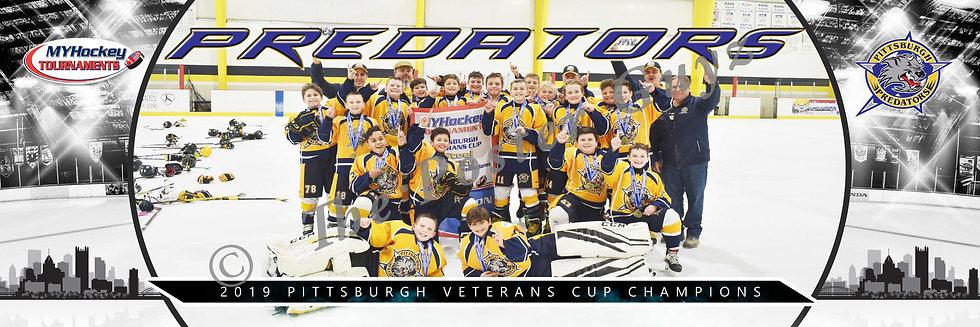 Pittsburgh Predators PeeWee Champions