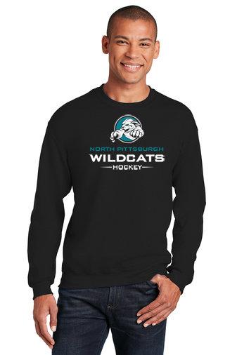 NP Wildcats-Crewneck Sweatshirt-Wildcat Logo 2
