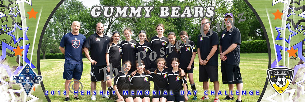Dix Hills Gummy Bears U12G