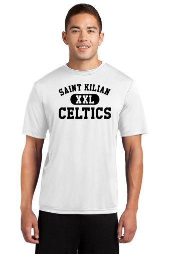 SaintKilian-Short Sleeve Dri Fit-Black XXL Logo