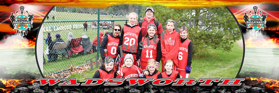 Wadsworth Girls 3-4 Red D