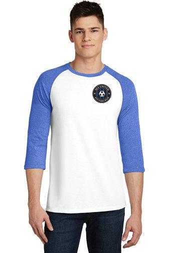 SCS- 3/4 Sleeve Baseball Style Shirt-Left Chest Logo