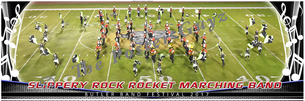 "Slippery Rock High School ""Rocket"" Marching Band version 2"