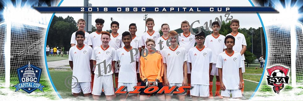 SYC Lions 05 Blue Boys U14