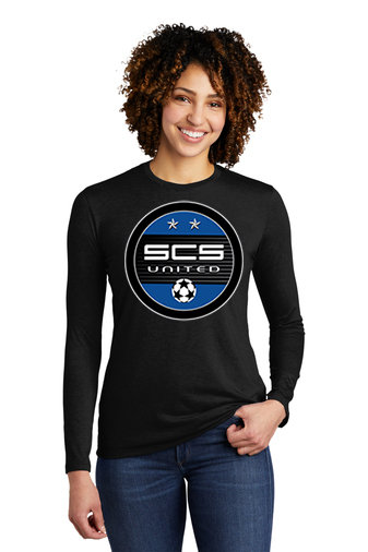 SCS-Women's Allmade Recycled Long Sleeve-Round Logo