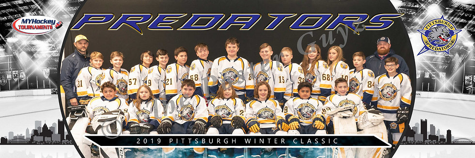 Pittsburgh Predators 415 Peewee A