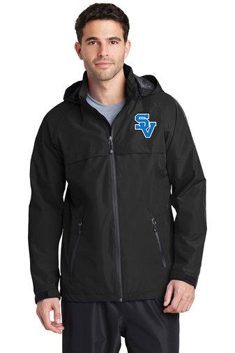 SVSoftball-Men's Rain Jacket