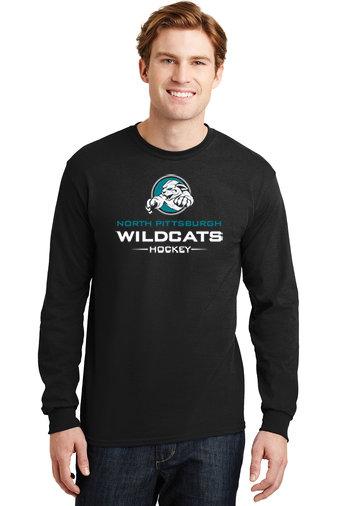 NP Wildcats-Long Sleeve Shirt-Wildcat Logo 2