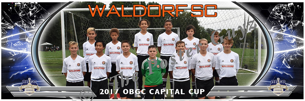 WALDORF SC '05 BOYS - ORANGE Boys U13