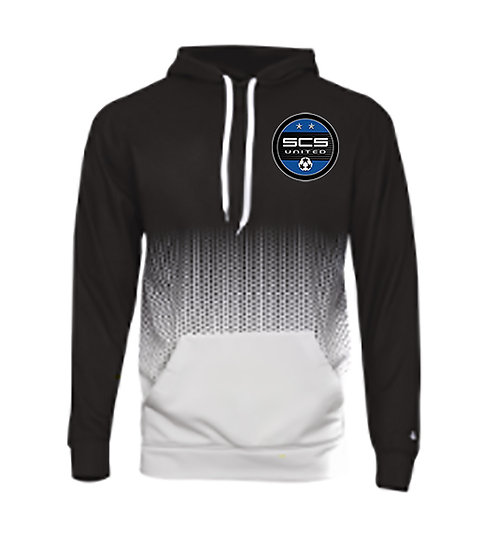 SCS-Badger Performance Hex Hoodie-Left Chest Logo