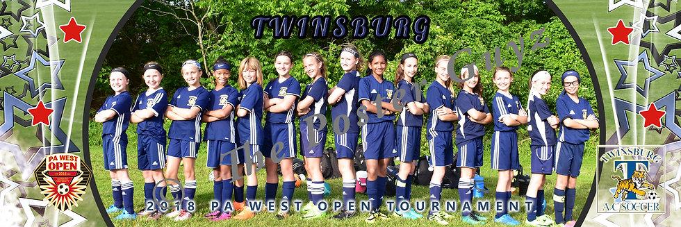 Twinsburg AC 07 girls U11G