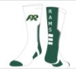PRHS-White Custom Socks