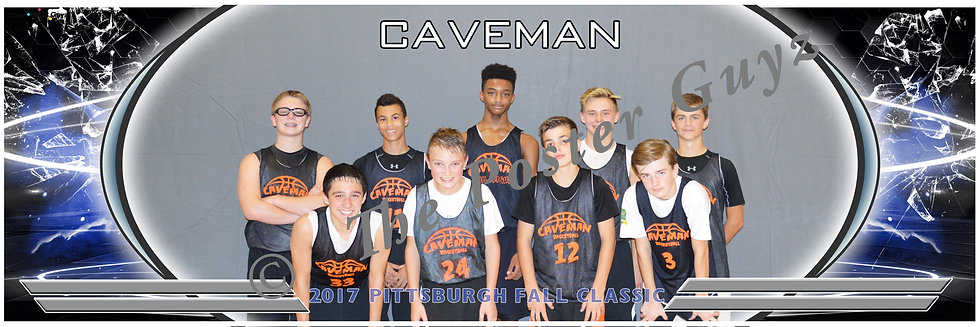 Caveman Paschall 8th Boys with flash