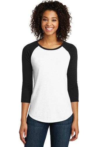 SVBBALL-Women's Baseball Style 3/4 Sleeve Shirt