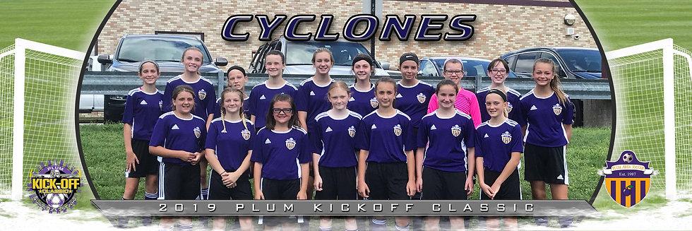 Plum Cyclones Girls