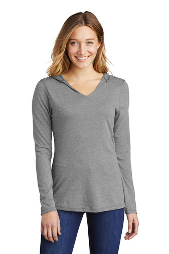 PREden-Women's District Long Sleeve Hooded Shirt