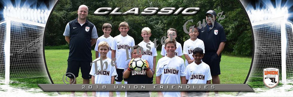 Baltimore Union Boys Classic White 2008 BU11