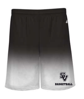 SVBBall-Badger Ombre Shorts