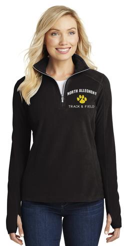 Ladies Fleece ¼ Zip Pullover