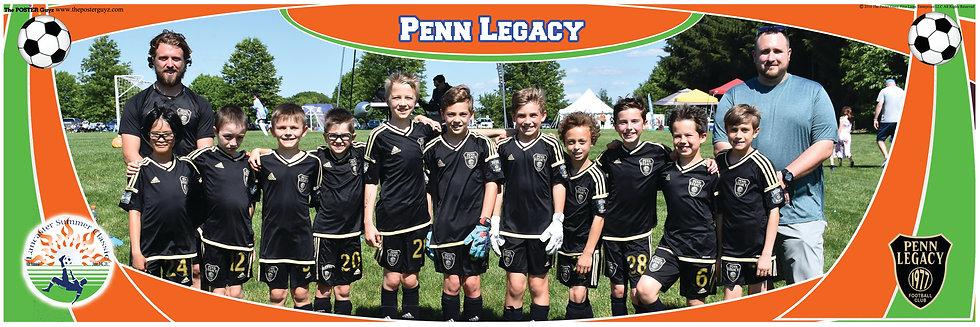 Penn Legacy M07 Football U10B