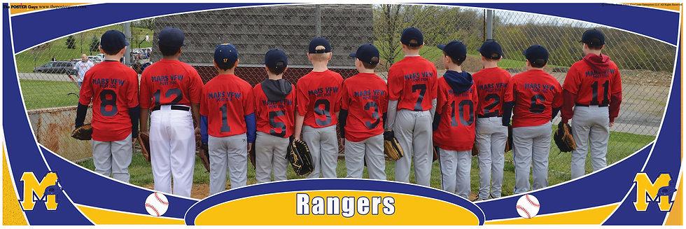 Rangers Minor Backs