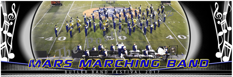 Mars Area High School Marching Band Front Ensemble