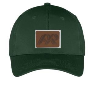 PRHS-Adjustable Hat-Leather Patch