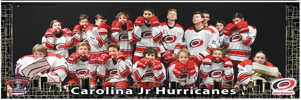 Carolina Jr Hurricanes - White Bantam A - Funny