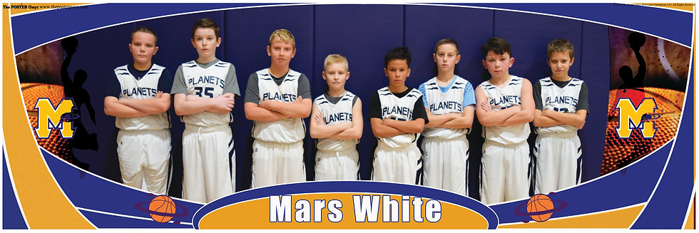 Mars White 5th Grade B