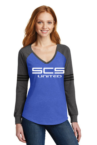 SCS-Women's District Game Long Sleeve Shirt