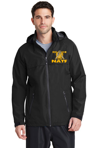 NATF-Men's Full Zip Rain Jacket