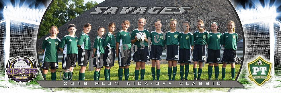 Penn Trafford Savages Girls U11