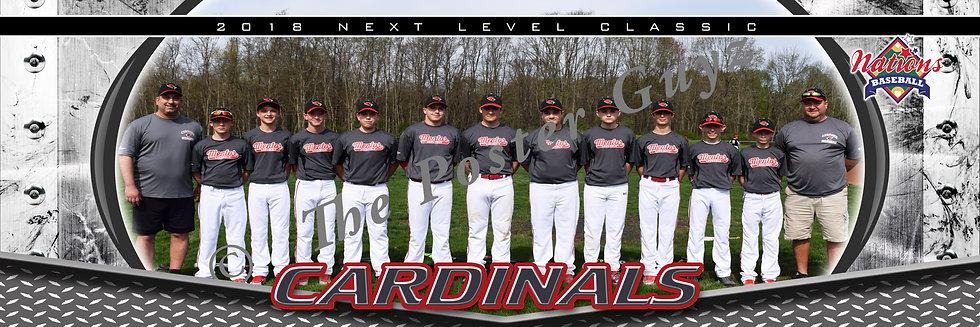 Mentor Cardinals Jonke 13u
