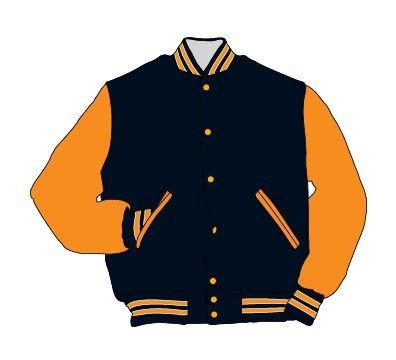Halloway custom varsity jacket wool/leather