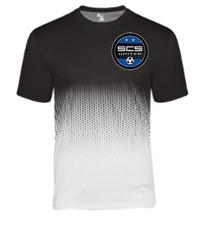 SCS-Badger Performance Hex Short Sleeve-Left Chest Logo