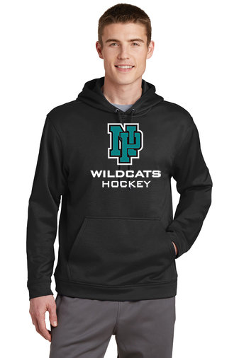 NP Wildcats-Performance Hoodie-NP Logo